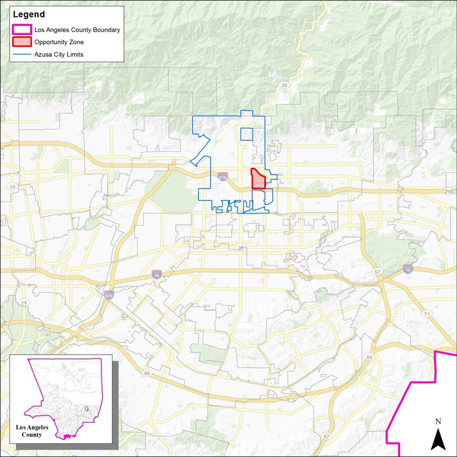 Opportunity Zones | Azusa, CA - Official Website on