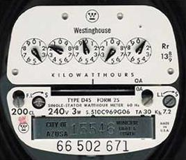 electric meter image