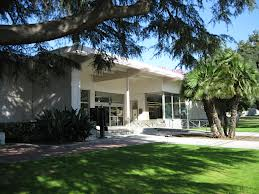 The exterior of the Azusa Library