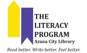 The Literacy Program of Azusa City Library logo