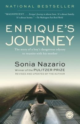 This Year&#39s Choice book cover, Enrique&#39s Journey