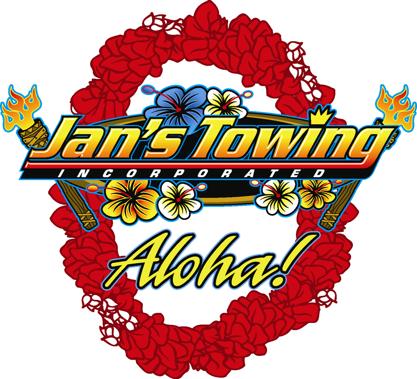 Jans Towing Logo