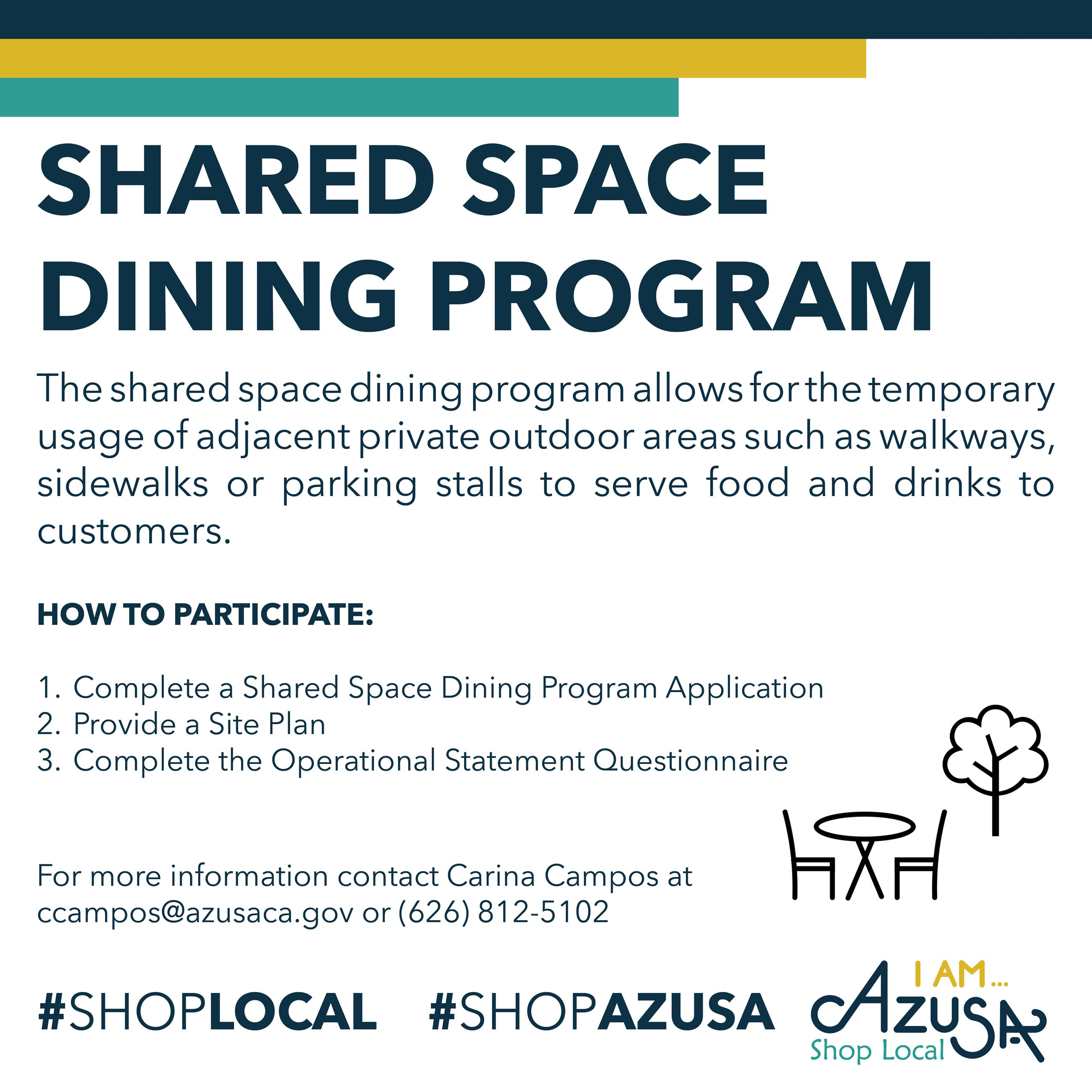 Shared Space Dining