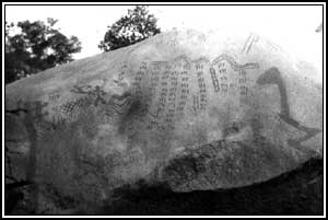 Rock Writing